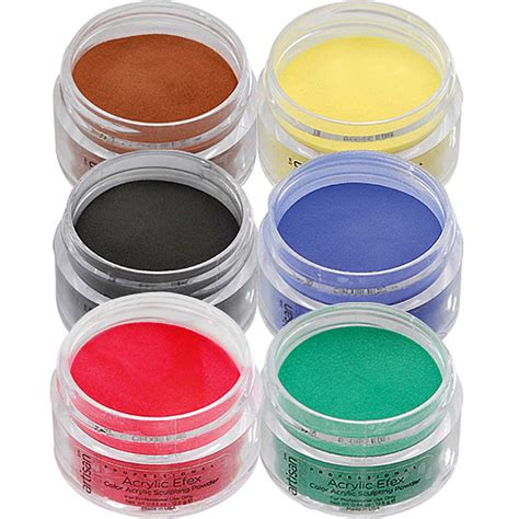 acrylic powder colors artisan colored acrylic nail powder primary colors