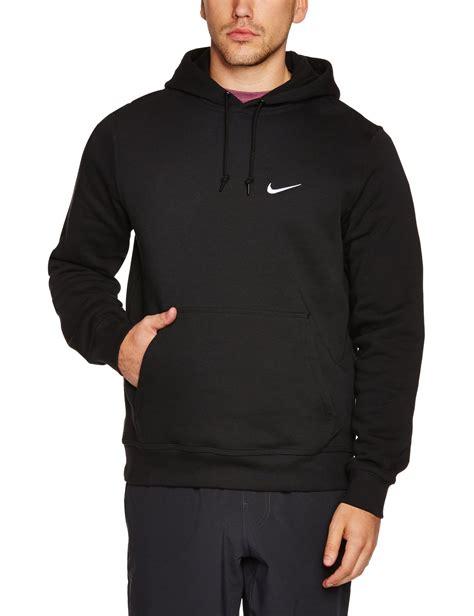 Amazon.com Nike Mens Club Pull Over Hoodie Black/White 611457-010 Size X-Large Clothing