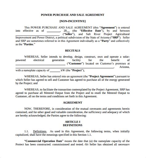 business purchase agreement template sle business sale agreement 8 free documents in pdf word