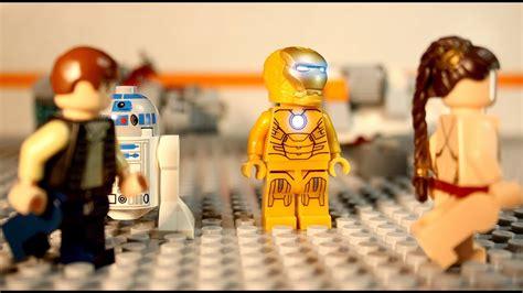 Lego Iron Man Im Not A Robot Star Wars Stop Motion