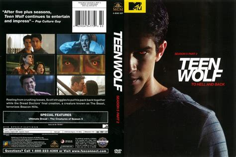 Teen Wolf Season 5 Part 2 (2015) R1 DVD Cover - DVDcover.Com