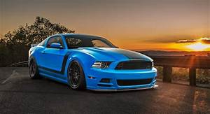 Lowered Ford Mustang Boss 302 With New Rims Is An Acquired Taste   Carscoops