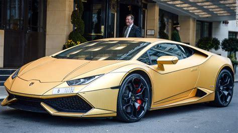cars lamborghini gold super rich saudi 39 s gold cars hit london cnn com