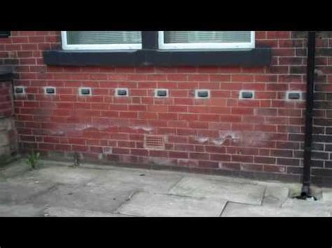 chemical damp proofing  green  youtube