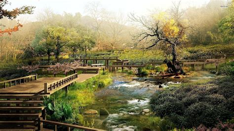 japanese landscape pictures japanese garden wallpapers wallpaper cave