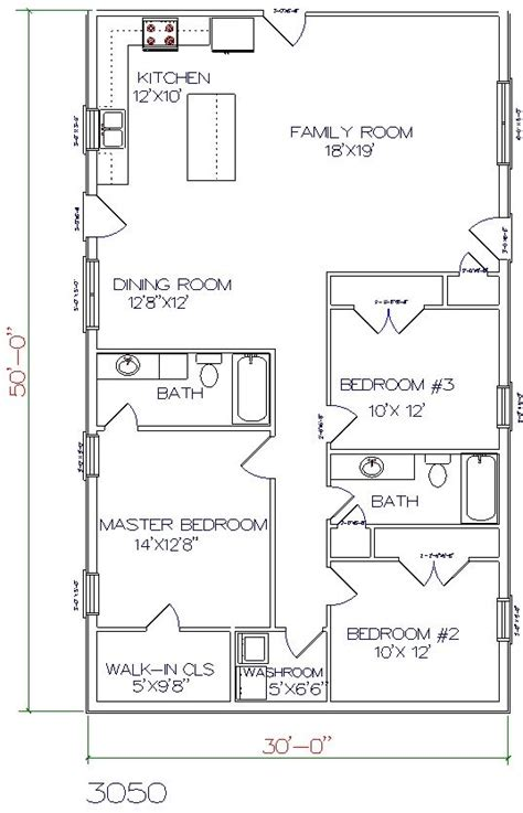 floor plans 30 x 60 30 x 60 house plans com our homes floor plans sr floor plans fp 06 se sherwood t3606g