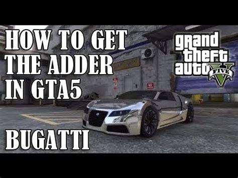 Gta 5 Where To Find Bugatti by Gta 5 Secret Car Location Where To Find The Bugatti