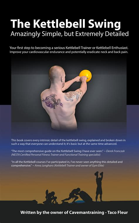 kettlebell swing ebook kindle edition cavemantraining