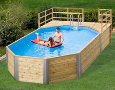 Swimmingpool Aus Holz by Pool Aus Holz Holzpool Weka Korfu Schwimmbecken Aus Holz