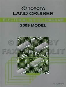 2009 Toyota Land Cruiser Wiring Diagram Manual Original