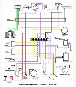 Wiring Diagram For 1970 60hp Johnson  Altenator Page  1