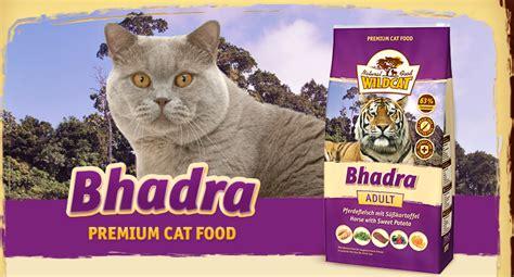 katzenfutter wildcat badhra das gesunde futter fuer die katze