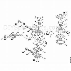 Stihl Fs 80 Brushcutter  Fs80 4137   Parts Diagram  T