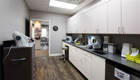 dental office reception area  work stations