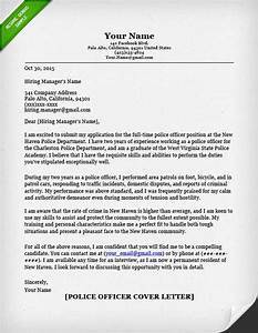 police officer cover letter writing guide resume genius With cover letter for police department