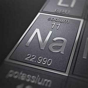 Sodium Element  Na Or Atomic Number 11