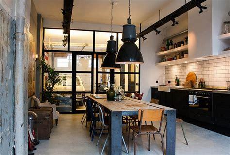 norme cuisine restaurant 30 exemples de décoration de cuisines au style industriel