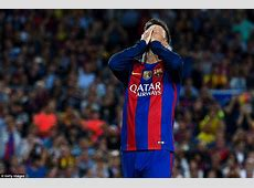Barcelona 11 Atletico Madrid Lionel Messi faces three