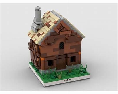 Moc Farm Village Modular Lego Mocs Build