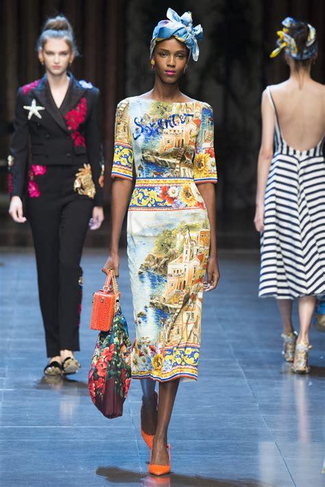 Dolce & Gabbana Spring 2016 Ready-to-Wear – Fashion Bomb ...