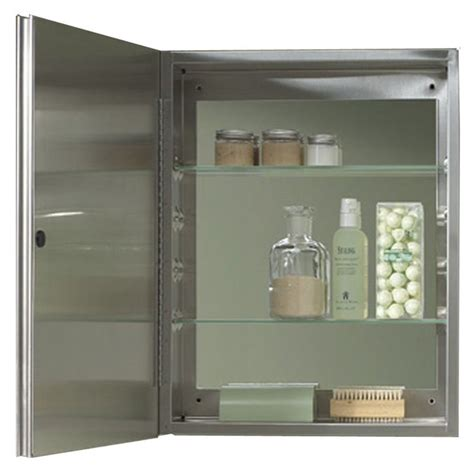 15 x 19 medicine cabinet jensen 56ss184csn 15 quot x 19 quot medicine cabinet plumbersstock