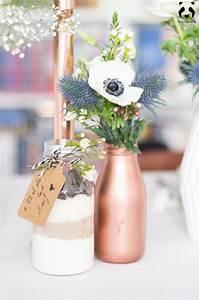 Bombe Peinture Cuivre Rose : les 25 meilleures id es concernant vases blancs sur ~ Dailycaller-alerts.com Idées de Décoration