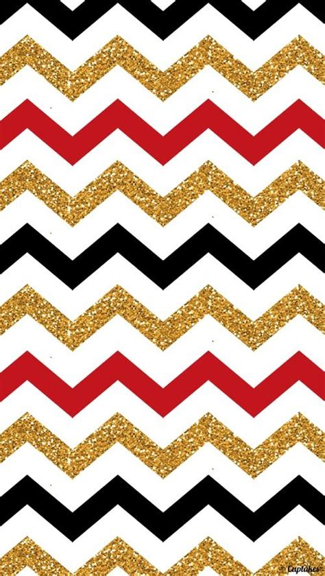 red gold black zig zag wallpaper   phone