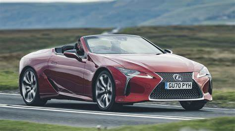 Lexus LC Convertible review 2020 - pictures   Carbuyer