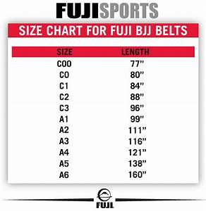 Fuji Bjj Belt Brown