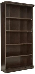 Sauder Black Bookcase by Sauder 412177 Solid Wood Library Bookcase With 5 Shelves