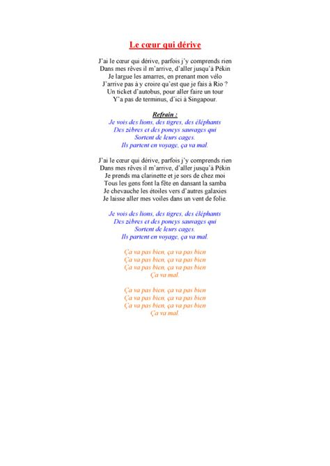 dans le port d amsterdam paroles j ai le coeur qui d 233 rive paroles de chanson t 234 te 224 modeler