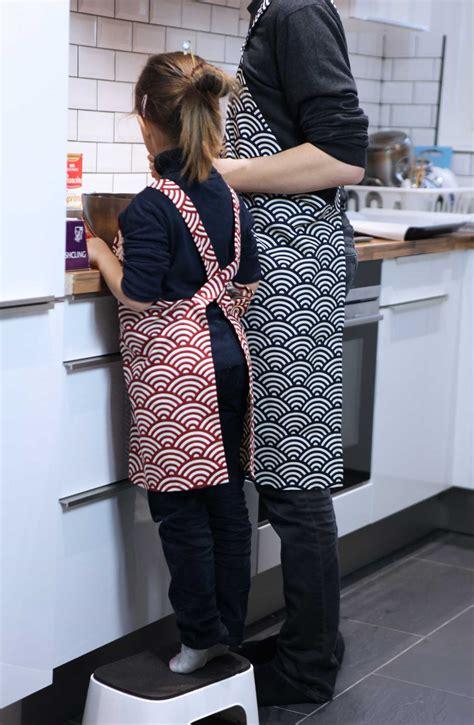 tablier de cuisine pour fille mon tablier japonais fait