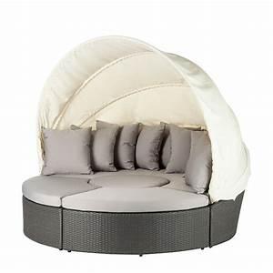 Polyrattan Lounge Grau : sonneninsel paradise lounge 4 teilig grau kaufen home24 ~ Indierocktalk.com Haus und Dekorationen