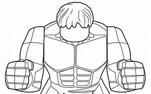 Hulk - Coloring Pages - Lego U00ae Marvel U2122 Super Heroes