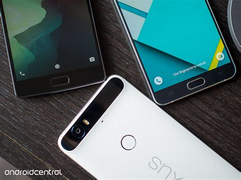android fingerprint sensors ranked android central