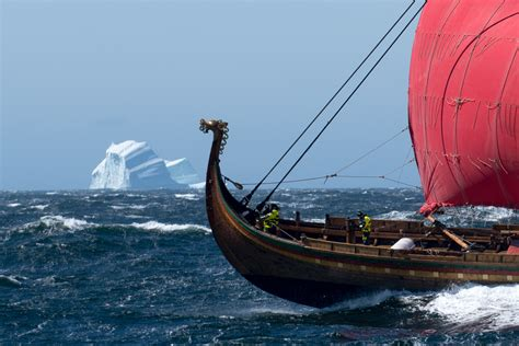 Viking Boats Information by Board The World S Largest Viking Longship At Mystic