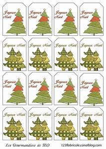 étiquettes De Noel à Imprimer : etiquettes cadeaux imprimer sapins de no l 1 2 3 flo ~ Melissatoandfro.com Idées de Décoration