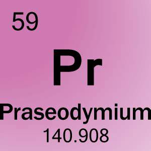 Element 59 - Praseodymium - Science Notes and Projects