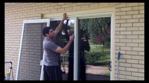 sliding screen door tune   home repair tutor youtube