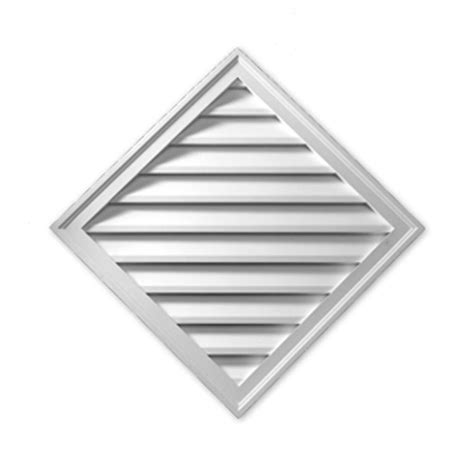 Decorative Gable Vents Home Depot by Fypon 33 15 16 In X 33 15 16 In X 1 5 8 In Polyurethane