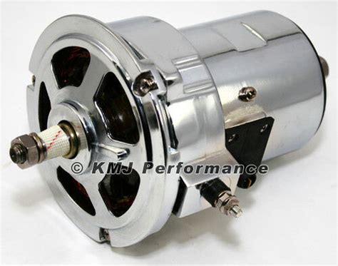 1.6l Vw Beetle 55 Amp Chrome Alternator Type 2 Mini Bus