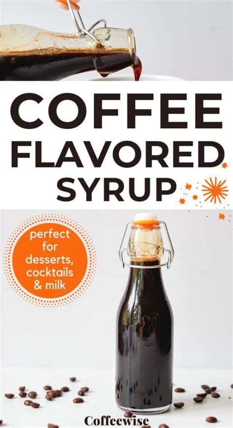 Coffee, fresh milk and your favorite syrup are all you need to make your favorite drink at home. How to make coffee syrup at home (the easy way) | Coffeewise