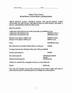 pin banquet hall rental contract form pictures on pinterest With banquet hall contract template