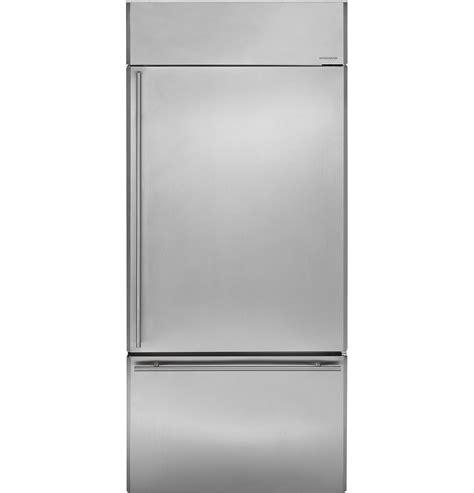 ge monogram  built  bottom freezer refrigerator zicsnxrh ge appliances