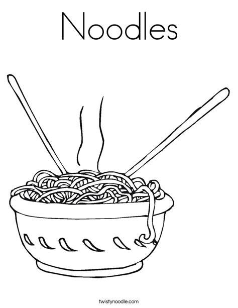 high taste noodles colouring pages picolour