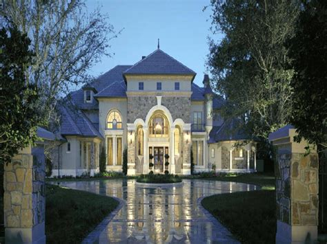 house plans for mansions style luxury home plans small chateau homes