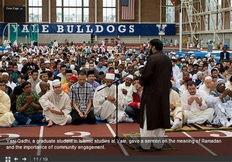 Eid Ul-fitr 1429 Salah At Yale University With Yasir Qadhi