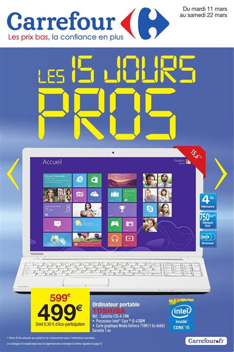 carrefour informatique pc bureau carrefour ordinateur de bureau 28 images les 25