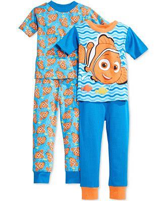 AME Toddler Boys' 4-Piece Finding Nemo Pajama Set ...