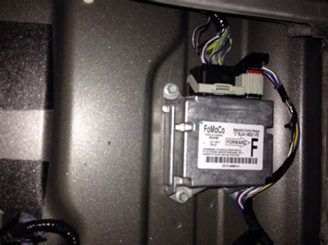 Air Bag Control Module Location Ford Forum